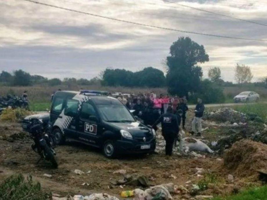 Macabro hallazgo: encontraron un cuerpo compactado en un basural - Santa Fe