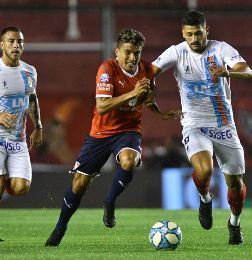 Independiente cosechó un punto agónico como local ante Arsenal - superliga Independiente Arsenal