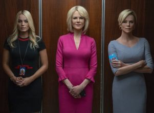 Gretchen Carlson (Nicole Kidman) sacudió la industria mediática estadounidense junto a sus compañeras Megyn Kelly (Charlize Theron) y Kayla Pospisil (Margot Robbie), contra el poderoso ejecutivo de Fox News. - Cine Estrenos cpm cinemas Play Cinema Cinemacenter
