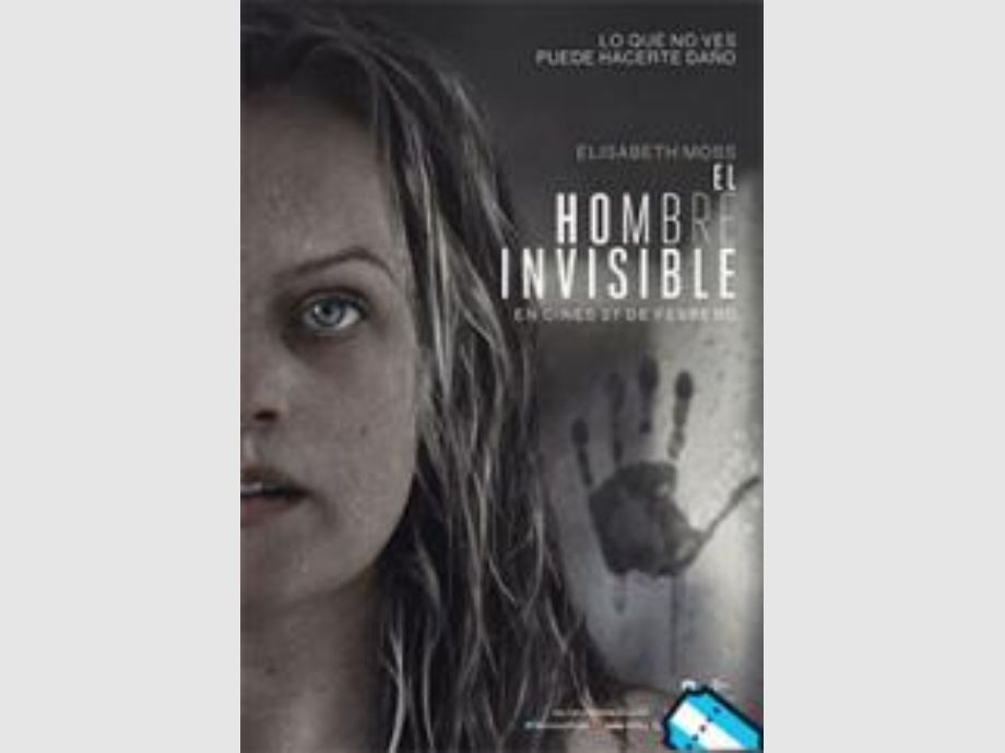 El hombre invisible - Cine Cinemacenter Play Cinema cpm cinemas