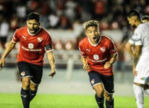 Independiente se despidió goleando a Central Córdoba - superliga Independiente Central Córdoba de Santiago del Estero