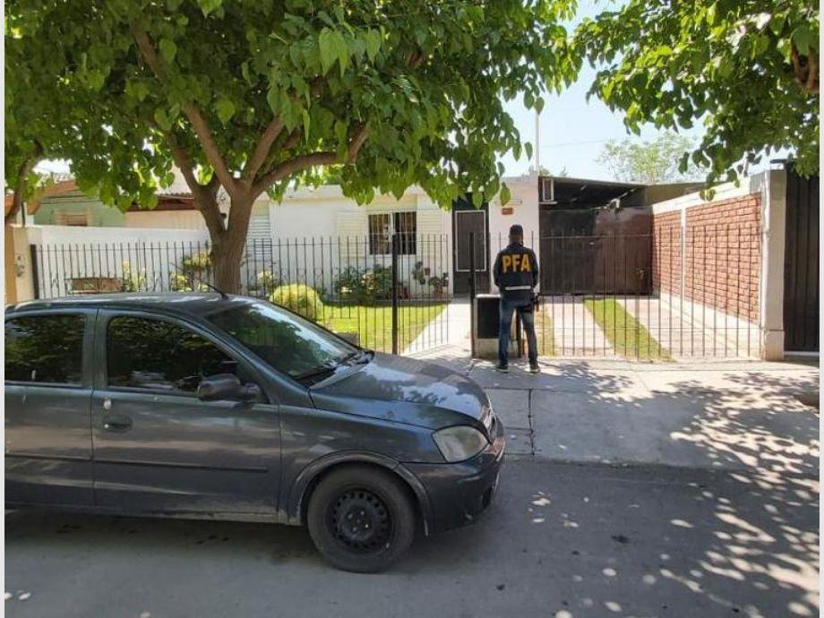 Parte de los allanamientos realizados en tres departamentos de San Juan. - Pornografía Infantil Pedofilia Policía Federal Policía Federal Delegación San Juan