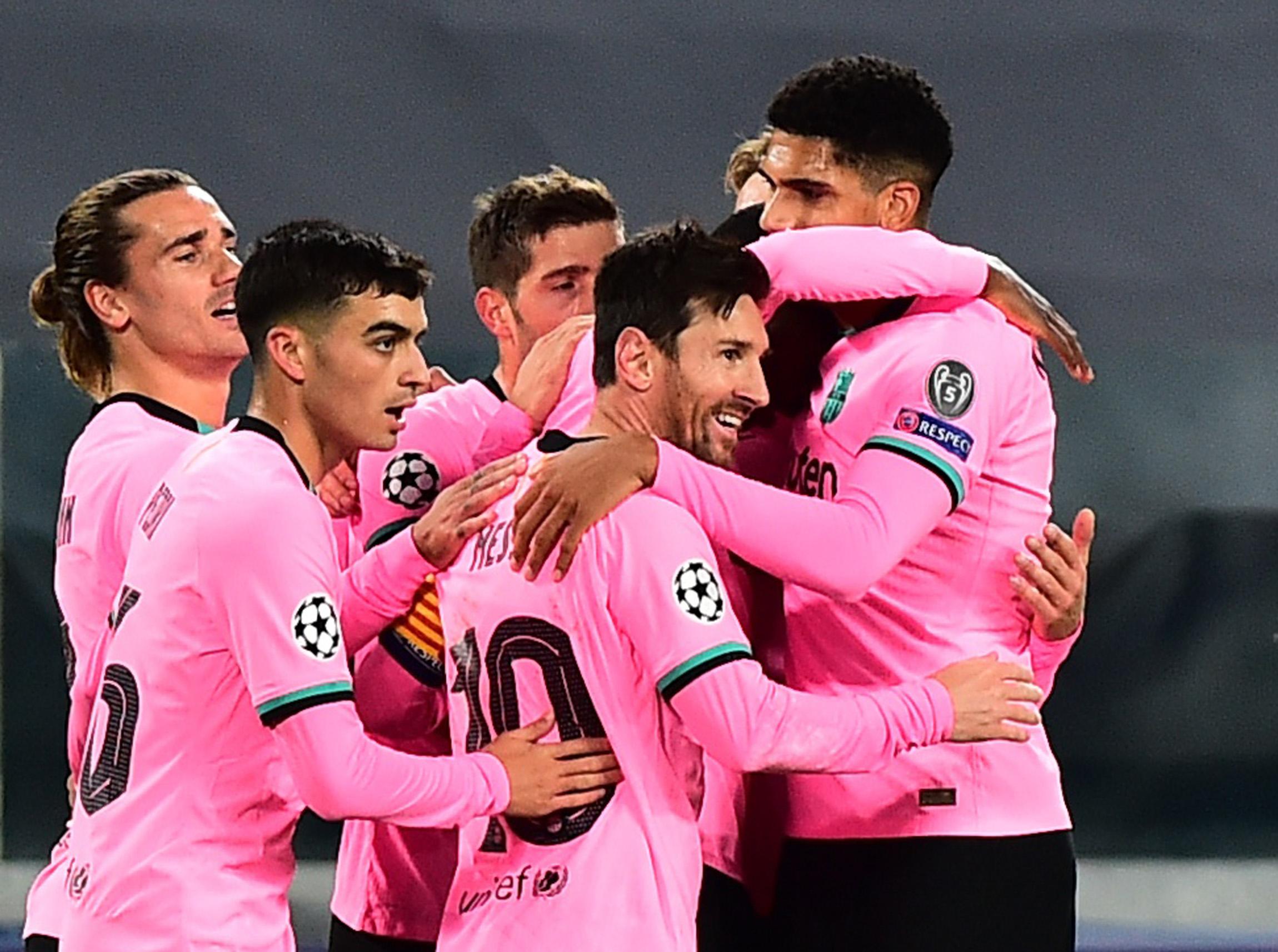 Messi anotó en el triunfo a domicilio del Barcelona sobre Juventus |