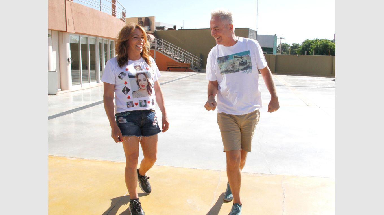 Marley y Lizy en San Juan: impactados por los paisajes y conmovidos por los relatos del terremoto - Por el Mundo Marley Lizy Tagliani