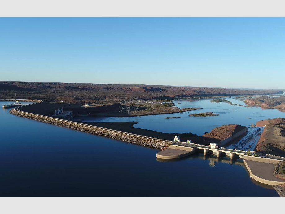 La generación de los diques tiene la mayor caída de los últimos 4 años - Crisis hídrica EPSE Miguel Gil Pugliese