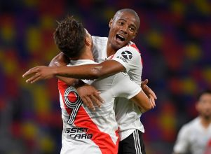 [VIDEO] El alocado festejo de River -