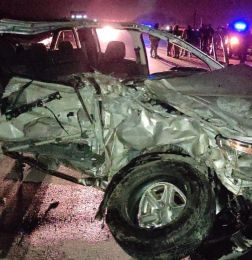 Madre e hija fallecieron en un terrible accidente de tránsito - tragedia en la rioja