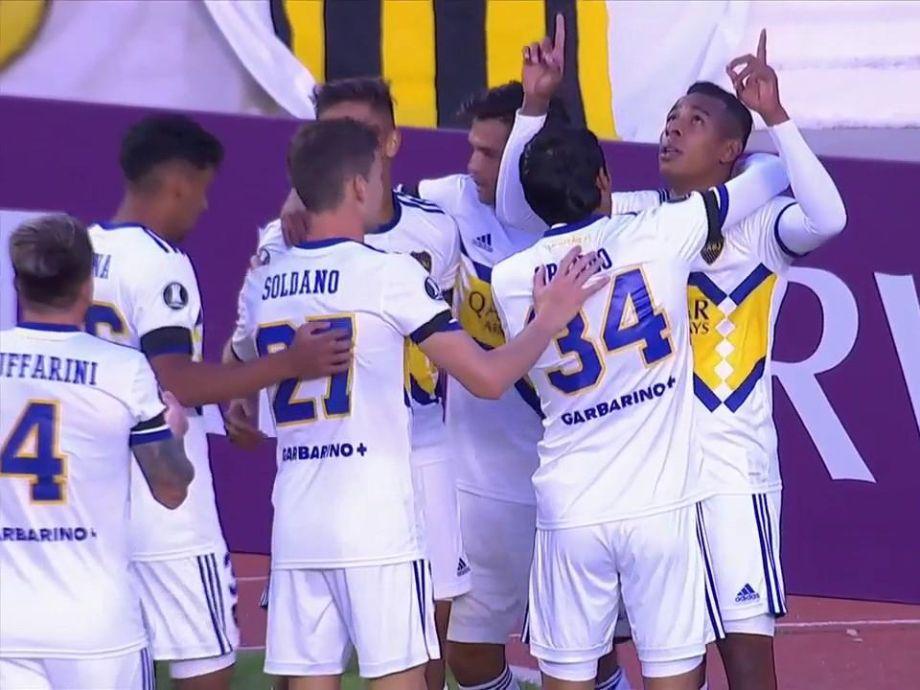 Boca le ganó al The Strongest y volvió al triunfo en la altura de La Paz después de 51 años - Copa Libertadores boca the strongest