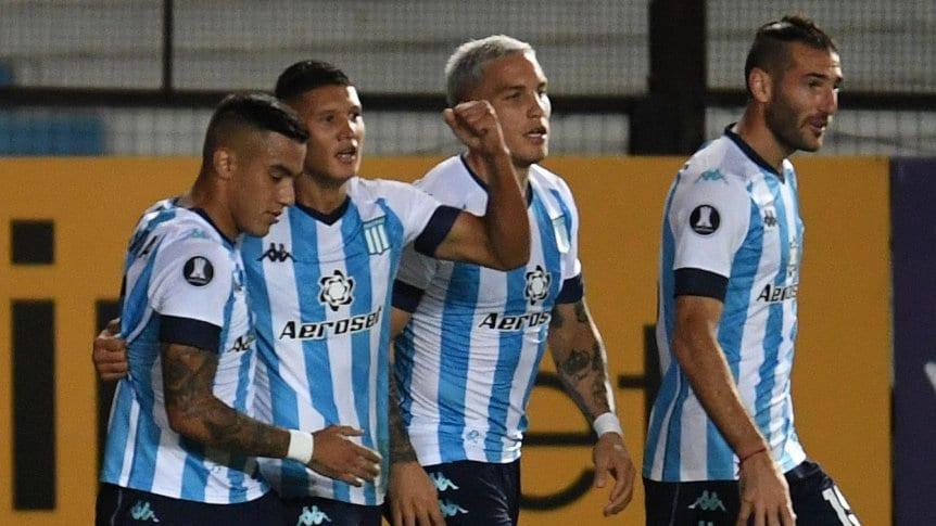 Racing consiguió su primera victoria y dejó una buena imagen en el 2-1 a Sporting  Cristal |