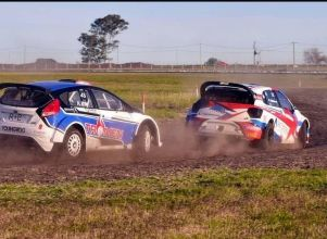 Pastén se quedó sin motor antes de largar la final del rally cross - gaston pasten Rally Cross