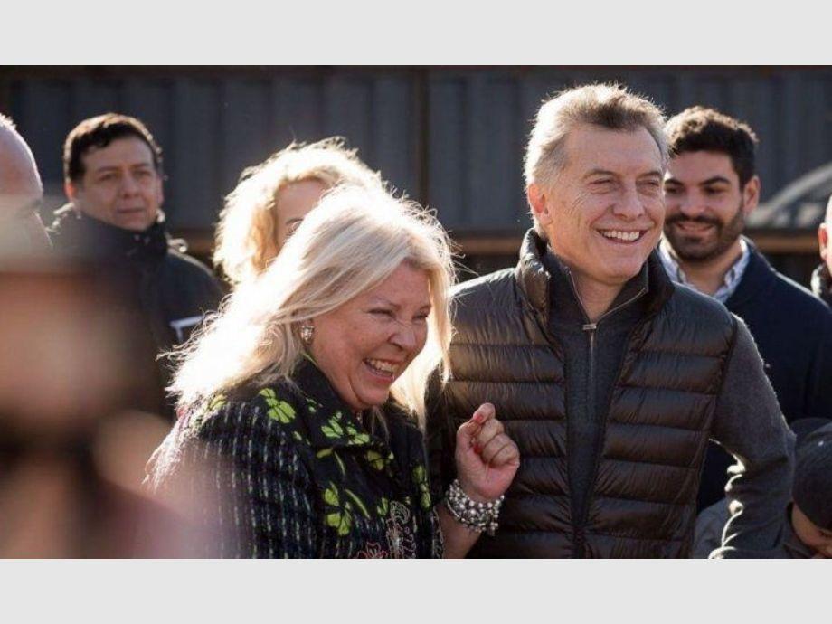 Carrió acusó a Macri de no tener principios ni convicciones -
