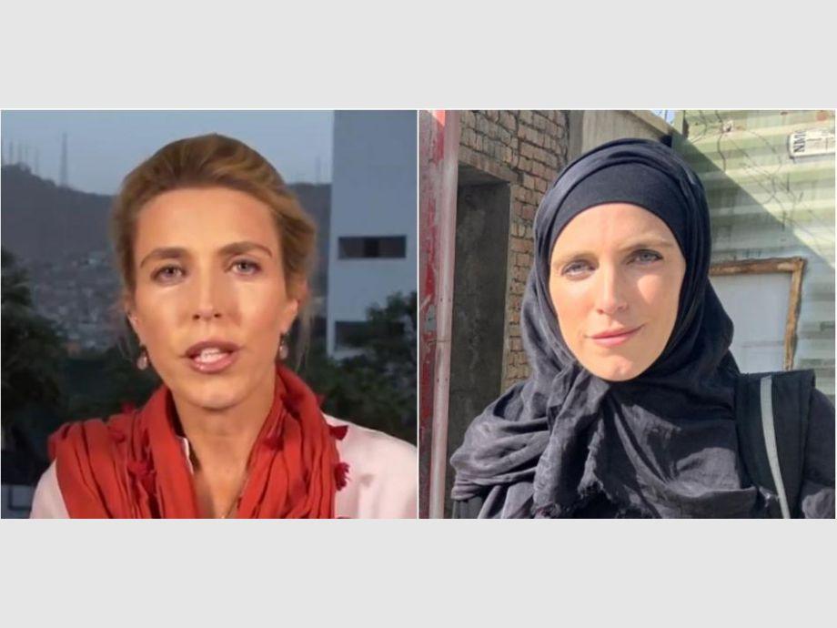 El drástico cambio de una periodista en Afganistán por avance de talibanes -