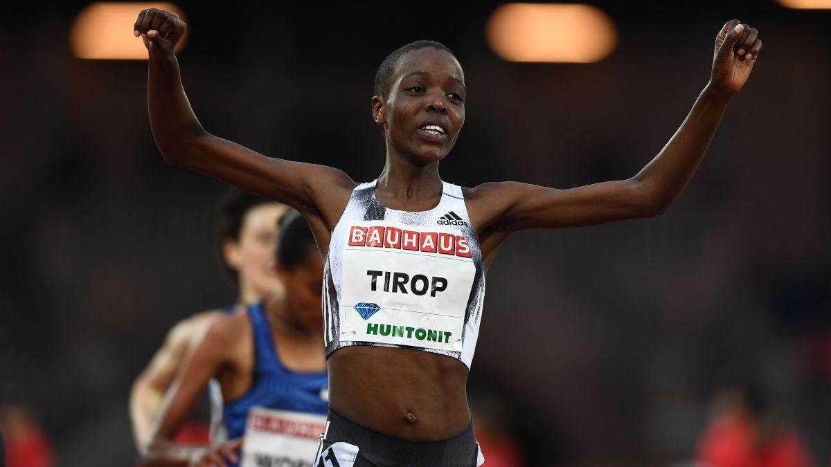 Asesinaron a puñaladas a la atleta keniana Agnes Tirop  