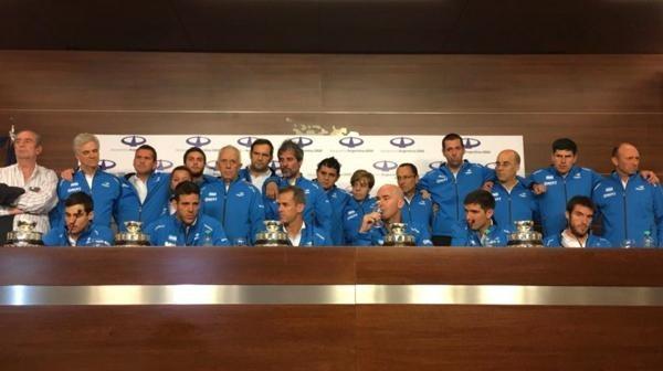 Argentina se proclama campeón de la Copa Davis