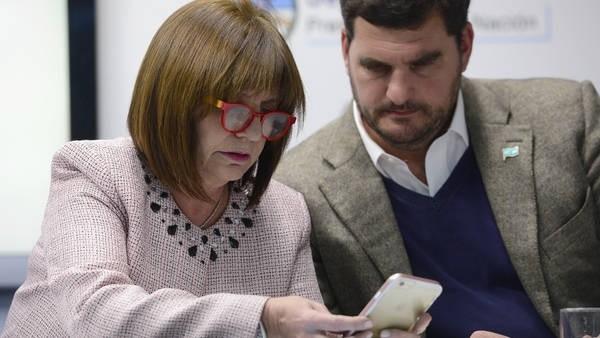 Patricia Bullrich presentó denuncia por incitación a la violencia en redes sociales