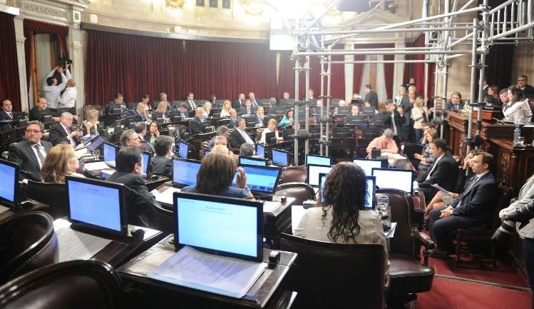 Con pocos senadores presentes, se votó la Ley de Emergencia Social