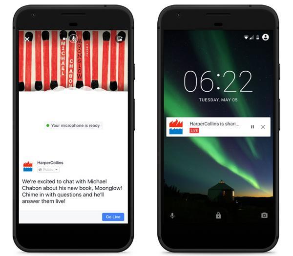 Facebook lanza nueva función para emitir audio en vivo