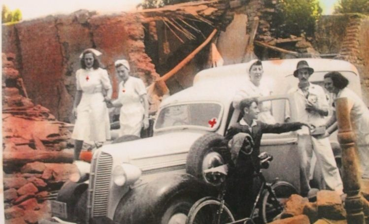 Resultado de imagen para terremoto de 1944 en la provincia de San Juan