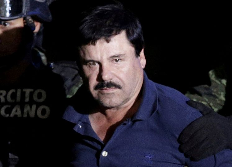 FILE PHOTO --  Recaptured drug lord Joaquin