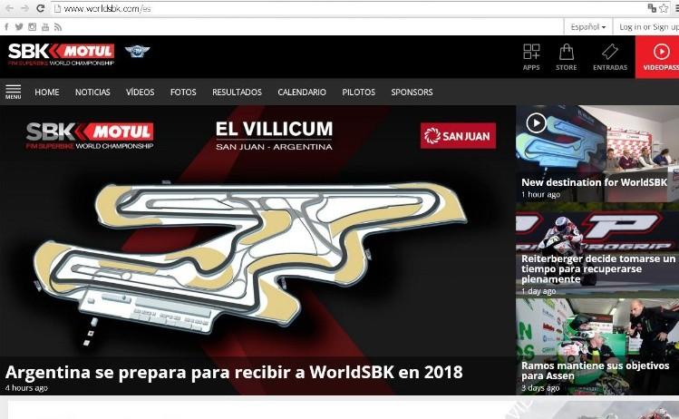 Circuito Villicum : Traerán la segunda carrera de motos más importante del
