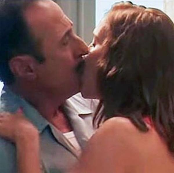 Polémica: filtran el primer beso de Francella y Lopilato