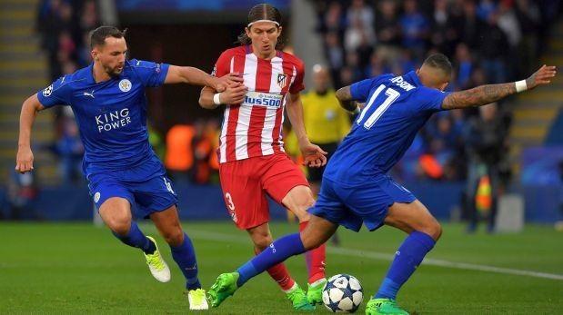 Resultado de imagen para Atlético Madrid empató 1-1 con Leicester