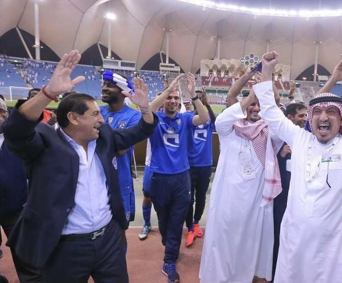 Ramón Díaz gritó campeón en Arabia Saudita