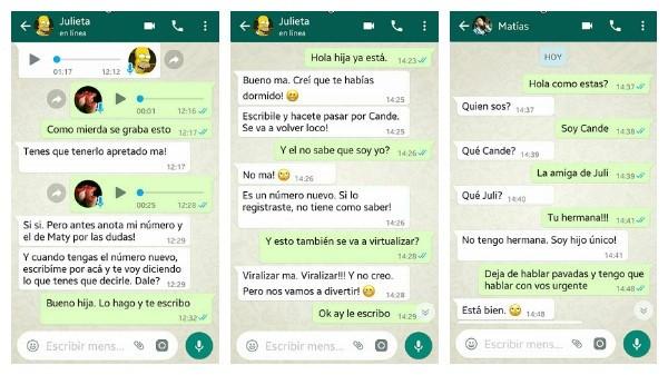 La Madre Se Vengo De La Broma Por Whatsapp De Su Hijo Diario De