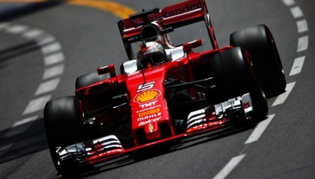 Vettel se quedó con la victoria en Mónaco