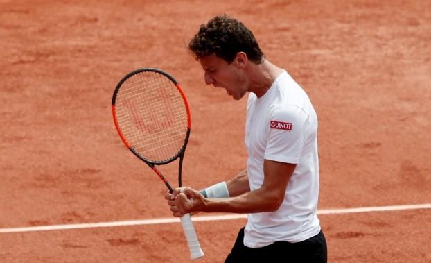 Trungelliti cayó ante García López en Roland Garros