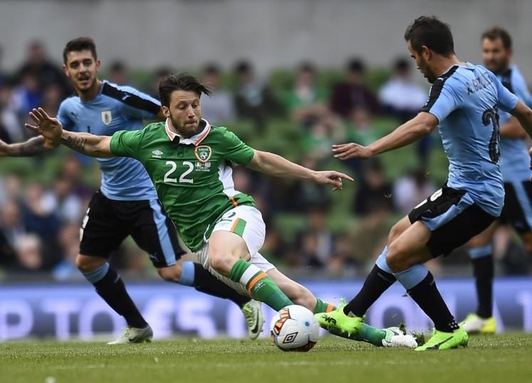 Irlanda vence 3-1 a Uruguay en partido amistoso