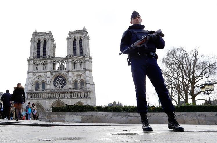 Sherlyn, cerca de Notre Dame cuando ocurrió ataque