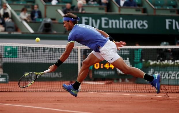 Tenista Rafael Nadal avanza a semifinales de Roland Garros