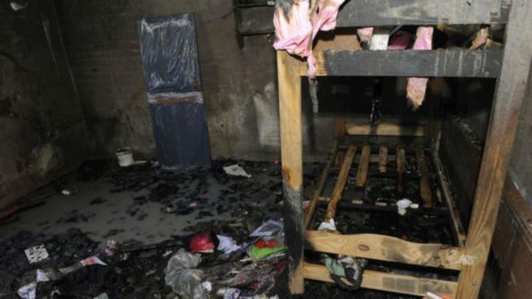 Cuatro nenas murieron al incendiarse su casilla en Villa Diamante, en Lanús