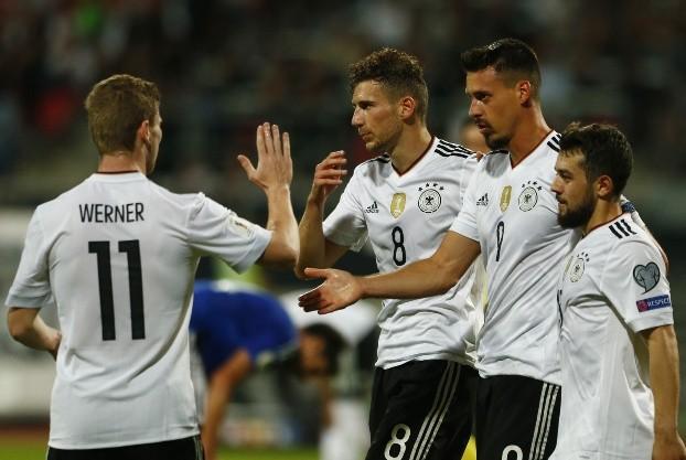 Alemania se divirtió con San Marino y ya piensa en Rusia