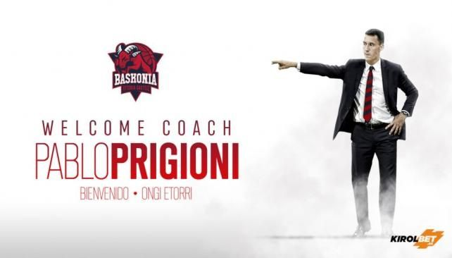 Argentino Prigioni, nuevo entrenador del Baskonia español