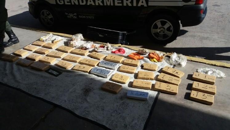 Secuestraron 31 kilos de marihuana en la Terminal — Increíble