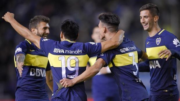 Boca es el nuevo campeón y su plantel festeja en Bahía Blanca