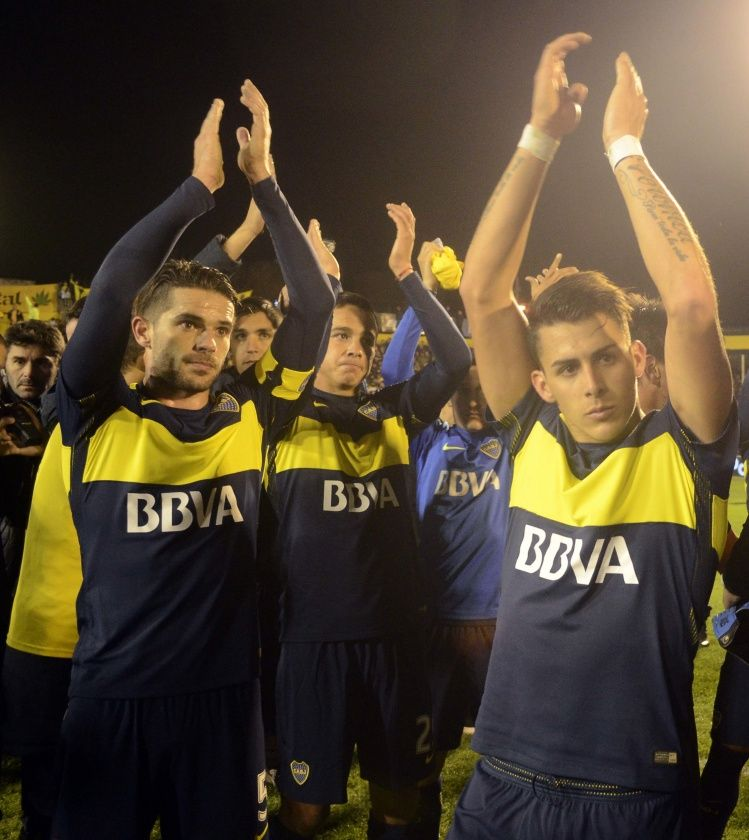 Boca celebró su título con fiesta en la Bombonera