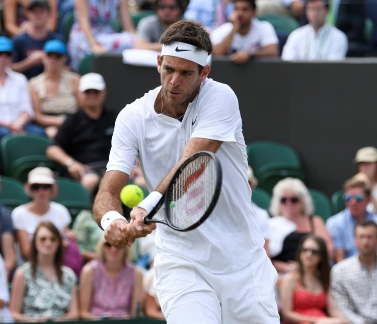 Del Potro perdió el primer set ante Gulbis — Wimbledon