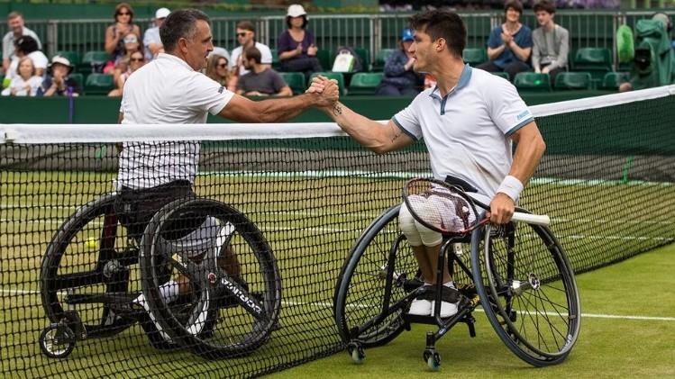 El cordobés Gustavo Fernández va por la corona en Wimbledon