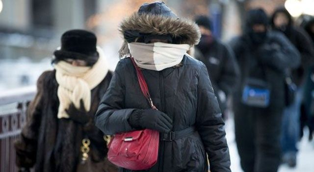 La sensación térmica llegó a 10 grados bajo cero — Martes helado