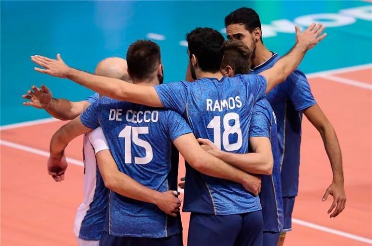 El seleccionado masculino debuta en la Copa Panamericana — Vóleibol