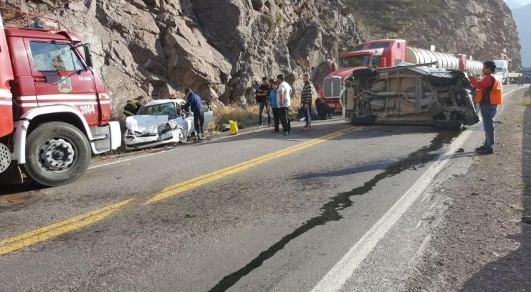 Accidente en alta montaña: cinco heridos, entre ellos un bebé
