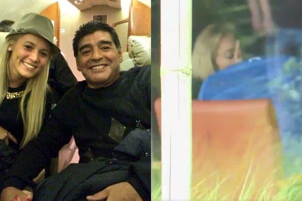 ¡Confirmado! Diego Maradona y Rocío Oliva están juntos otra vez