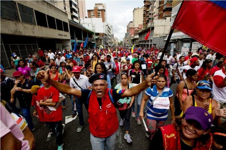 Canciller Jorge Arreaza rechaza sanciones de EE UU contra ocho funcionarios venezolanos