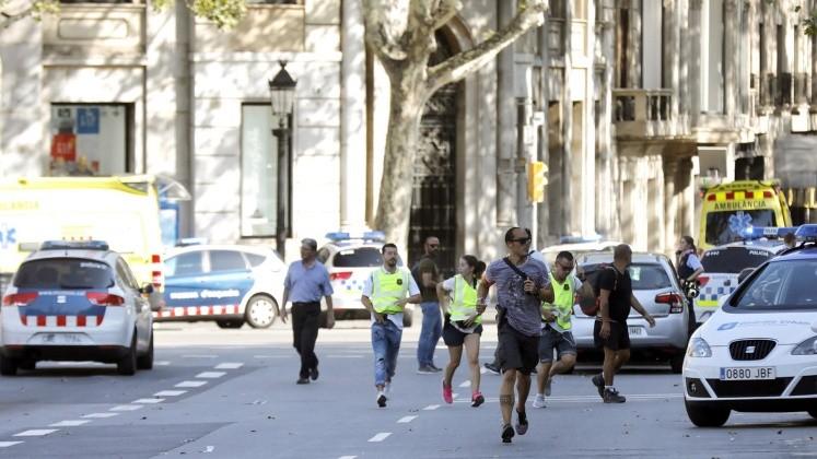Tiroteo es relacionado con atentado en Barcelona