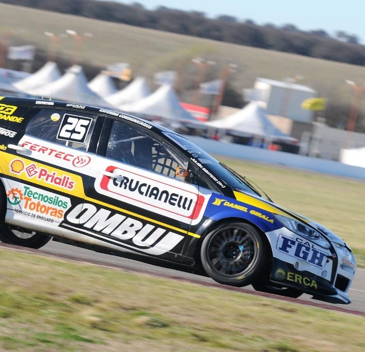 Julián Santero logró la pole position — TN en Toay