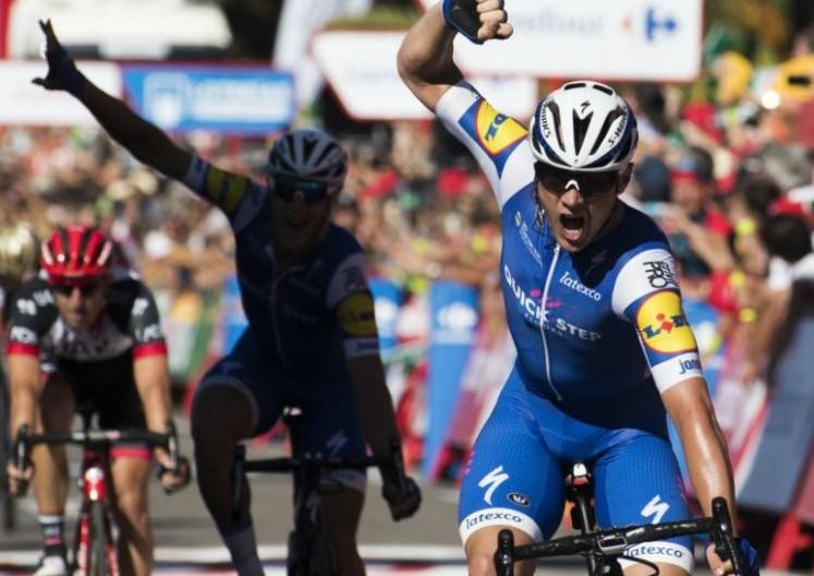 Lampaert gana la segunda etapa y es nuevo líder — Ciclismo