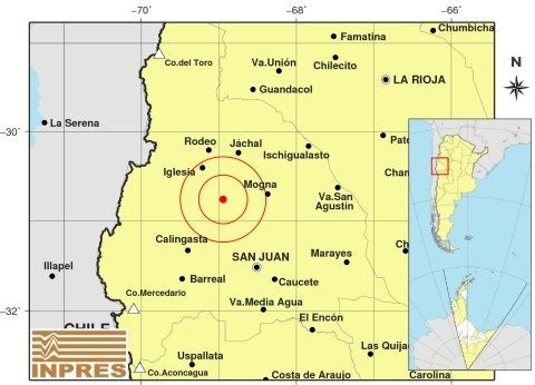 Se registraron dos fuertes sismos en San Juan